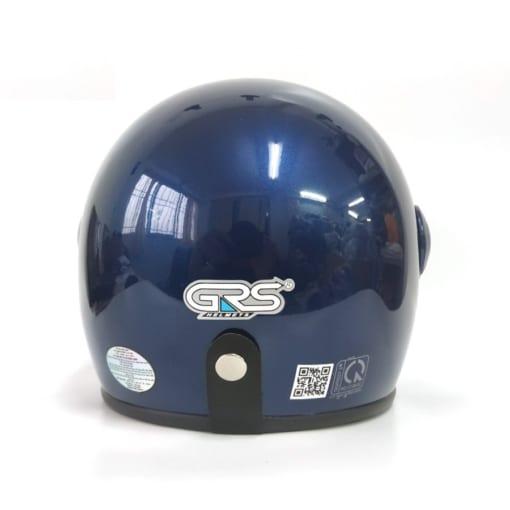mũ 3/4 a368k có kính xanh than bóng
