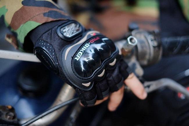 găng tay probiker cụt ngón