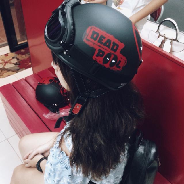 mũ bảo hiểm thời trang cao cấp