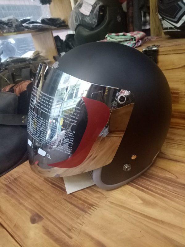 kính mũ bảo hiểm 3/4 GRS