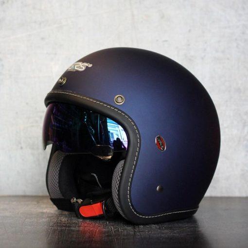mũ bảo hiểm grs a388k có kính