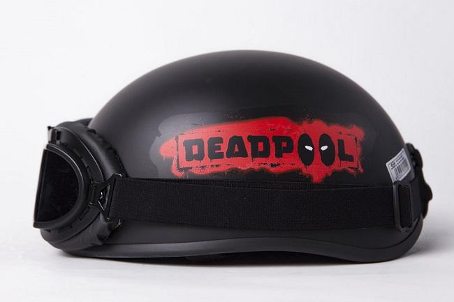 mũ bảo hiểm deadpool