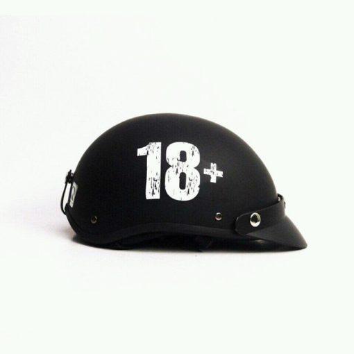 mũ bảo hiểm nửa đầu 18+