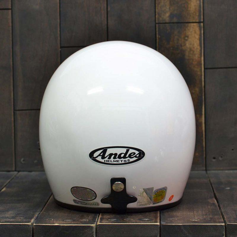 Mặt sau của mũ bảo hiểm có kính Andes
