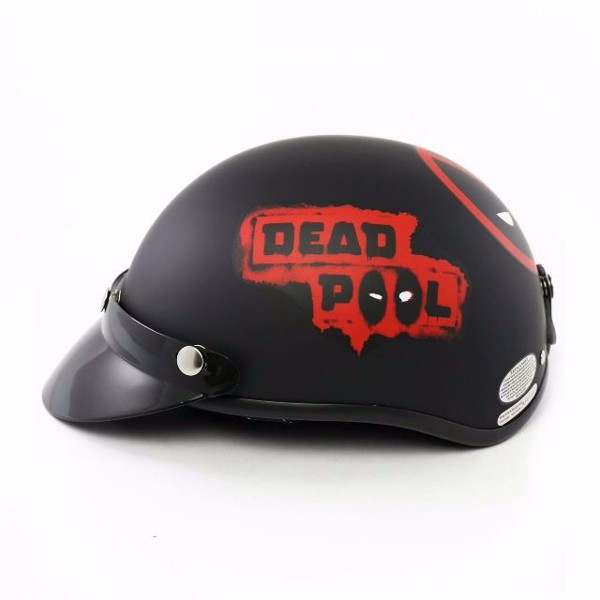 Mũ 1/2 đầu Deadpool