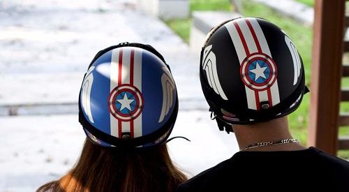 Mũ bảo hiểm cặp đôi đẹp giá rẻ