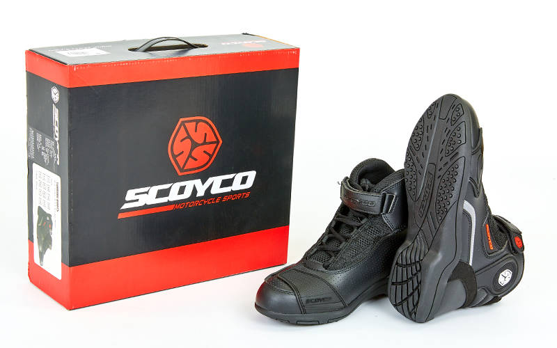 giày bảo hộ moto cao cổ