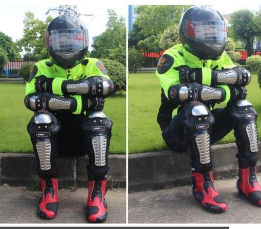 giáp bảo hộ tay chân đi xe máy