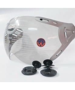 kính mũ bảo hiểm nửa đầu grs