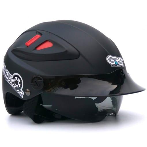 mũ bảo hiểm A966k kính âm trong