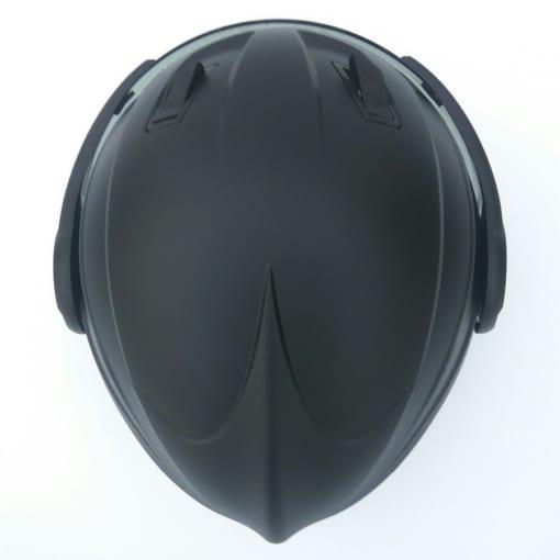 mũ bảo hiểm grs A737K 2018 đen nhám