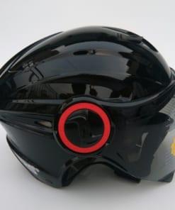 mũ bảo hiểm grs A737K 2018 đen bóng